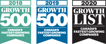 Canada's Fastest-Growing Companies (2018, 2019, 2020)